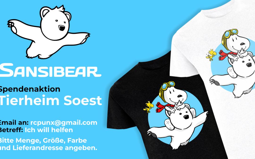 T Shirt kaufen Tieren helfen !